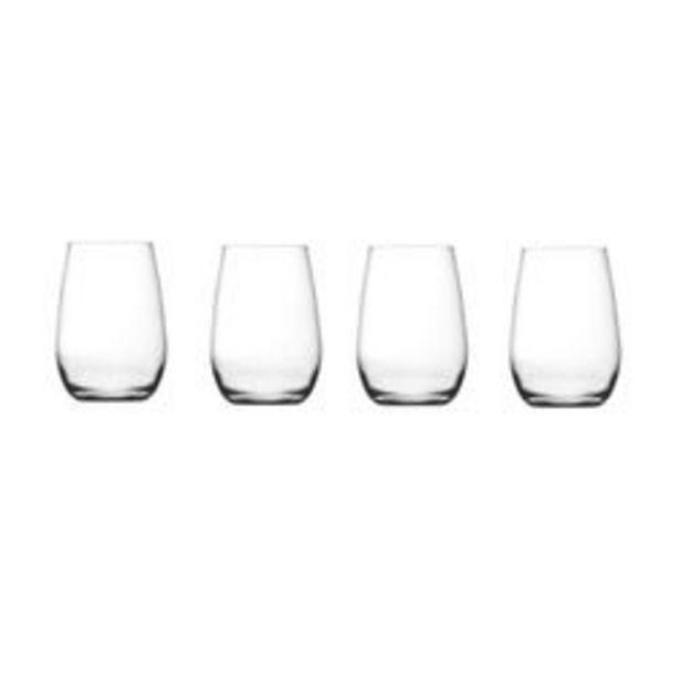 Oferta de Vasos de vidrio Dubai x 4 por $899