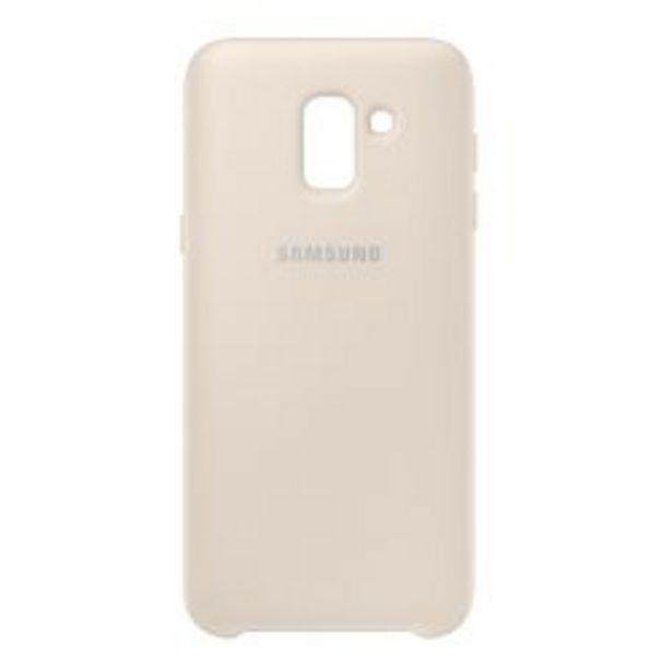 Oferta de Funda Samsung Dual Layer Cover J6 (2018) Gold por $1119