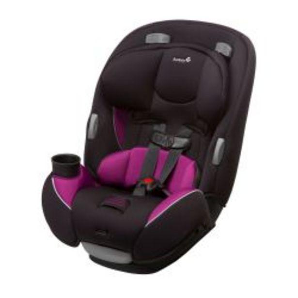 Oferta de Butaca Safety 1ST Continuum Negro y Violeta por $27999