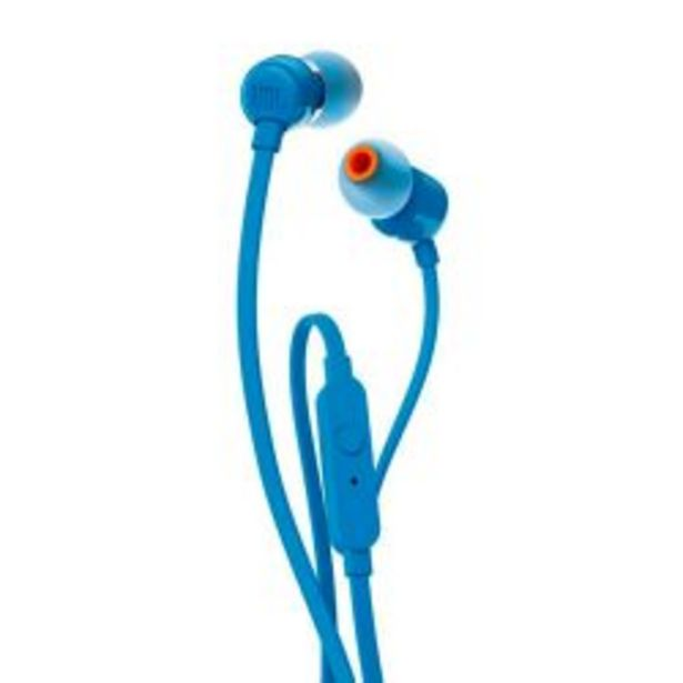Oferta de Auriculares in ear JBL T110 Blue por $1299