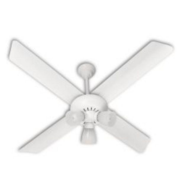 Oferta de Ventilador de Techo VTA 420 Blanco con Luz por $11724