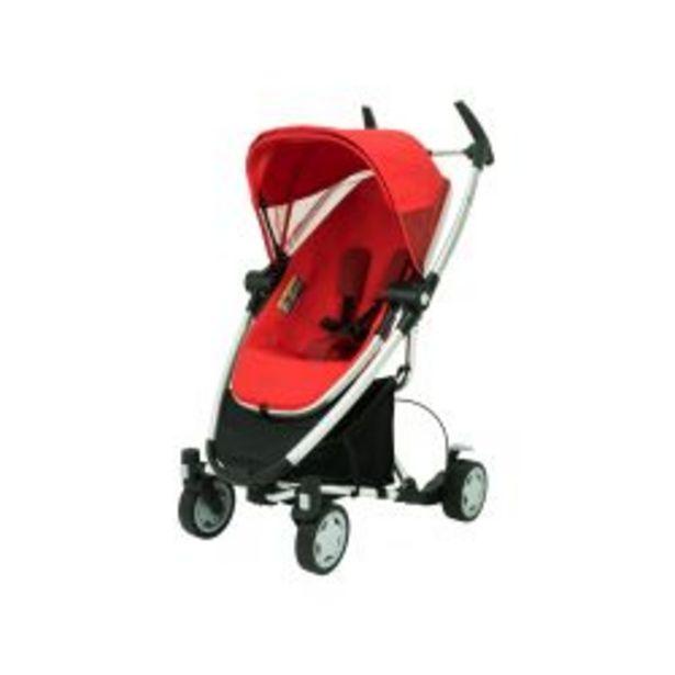 Oferta de Cochecito de bebé Quinny Zapp Xtra 4 Ruedas Rojo por $27499