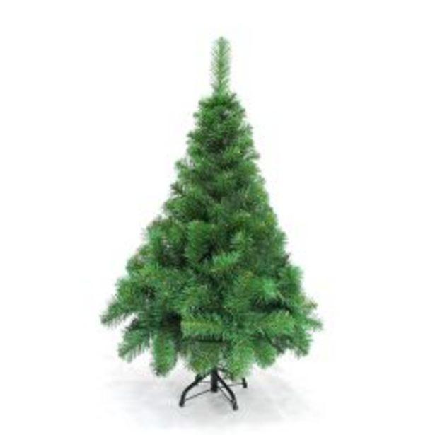 Oferta de Árbol de Navidad 1,20 M Pino Canadiense Extra Lujo por $1299