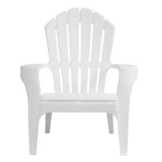 Oferta de Banco Miami Individual de Plástico Blanco por $5039