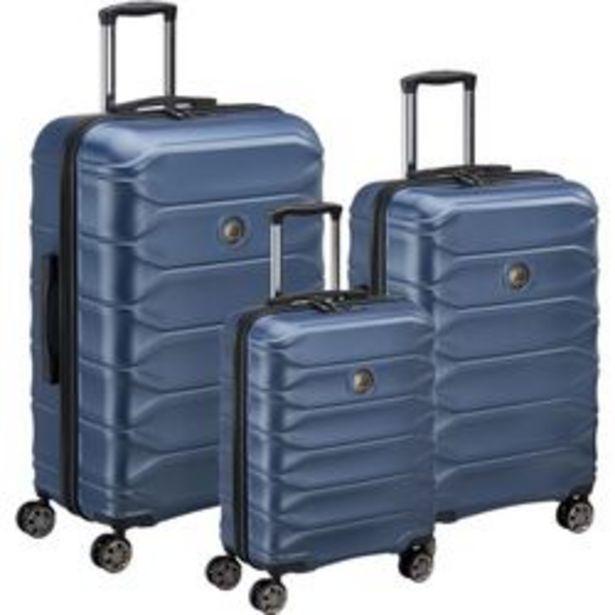 Oferta de Set de 3 Valijas Delsey Meteor Azul por $35667