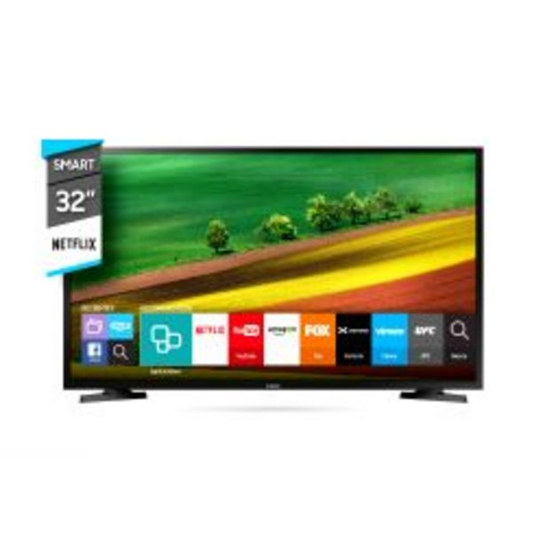 "Oferta de Smart TV 32"" HD Samsung UNJ4290AGCZB por $25999"