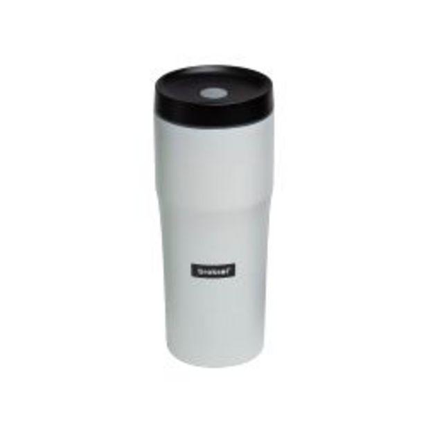 Oferta de Vaso Termico Acero Inoxidable Blanco Broksol 480Ml por $2190