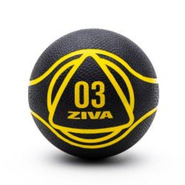 Oferta de Medicine Ball ZIVA 6kg Negro por $4999