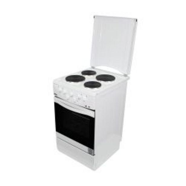 Oferta de Cocina Eléctrica 50 cm con Tapa Bram Metal por $60701
