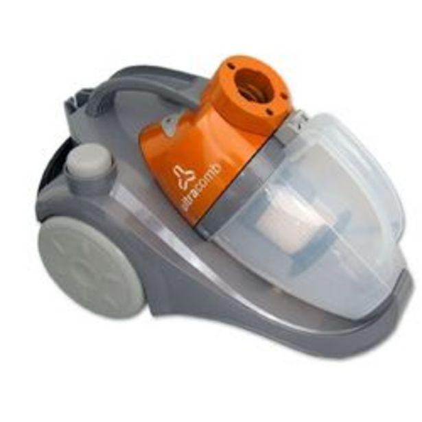 Oferta de Aspiradora Ultracomb AS-4220 1400W 1.5L Sin Bolsa por $11499