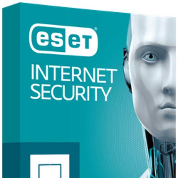 Oferta de ESET Internet Security 12m x3 Dispositivos Blister por $3769