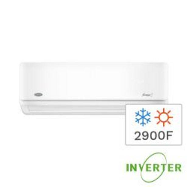 Oferta de Aire Acondicionado Split Inverter Frio/Calor Carrier 2900F 3400W 53HVA1201E por $59999