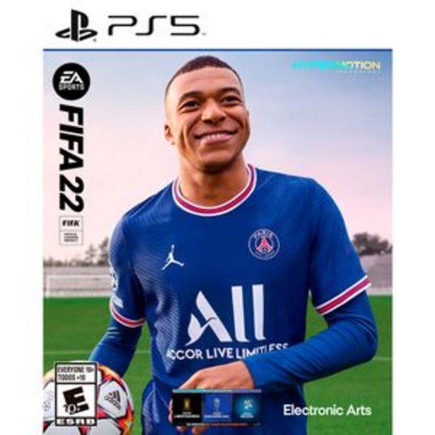 Oferta de Juego PS5 EA Sports FIFA 2022 por $17999