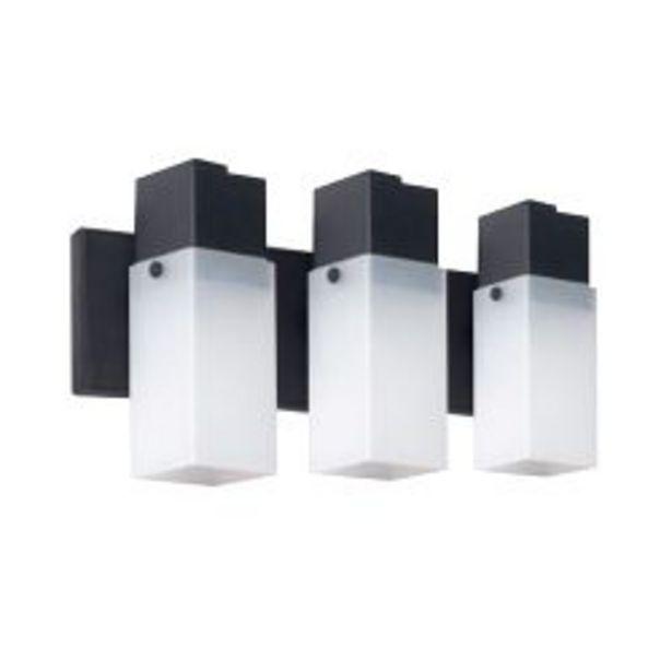 Oferta de Aplique de pared interior spot 3 luces lampara cuadrada Faroluz por $2410
