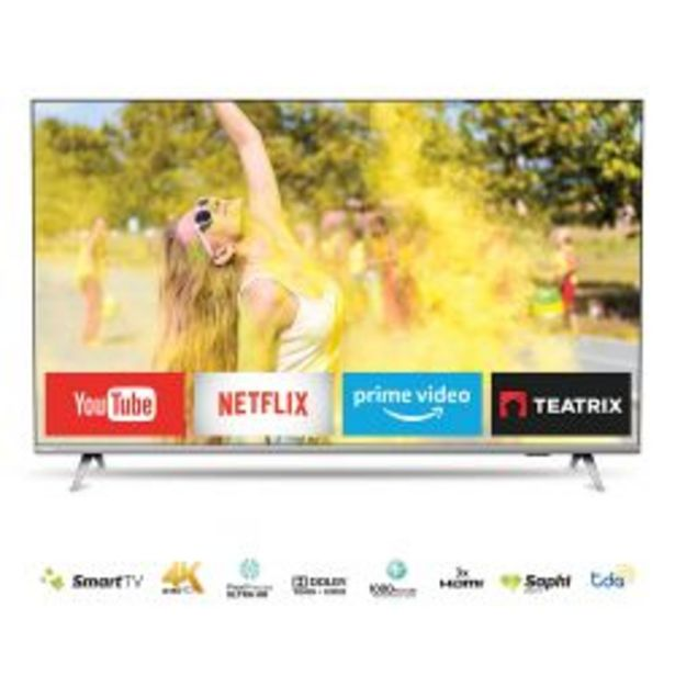 "Oferta de Smart TV 50"" UHD 4K Philips 50PUD6654/77 por $51999"