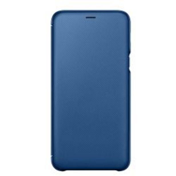 Oferta de Funda Samsung Wallet Cover A6+ Blue por $1119