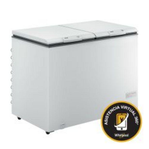 Oferta de Freezer Whirlpool Horizontal WHB42D1 417Lt por $73999