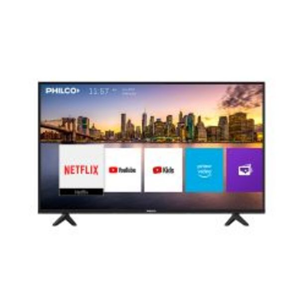 "Oferta de Smart TV 43"" Philco PLD43FS9A por $33999"