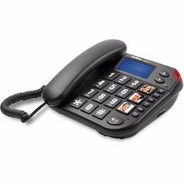 Oferta de Telefono Fijo INTELBRAS Tok Facil ID Negro por $5949