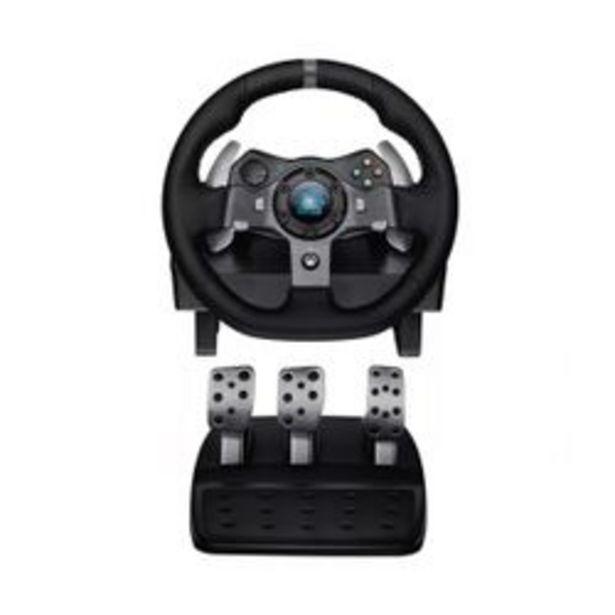 Oferta de Volante y Pedalera Logitech G920 Driving Force para Xbox One y PC por $58899,99