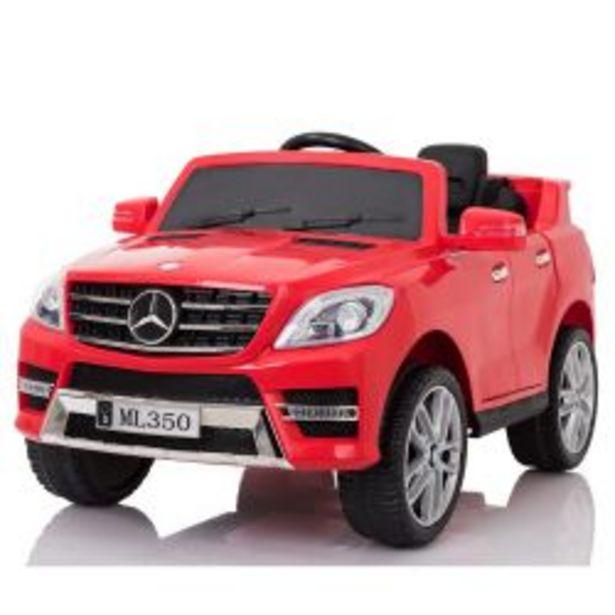 Oferta de Auto a Bateria Mercedes Benz 12V Asiento de Cuero 3025 Rojo por $42219