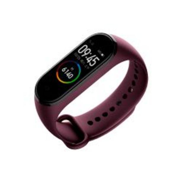 Oferta de Smartwatch Xiaomi Mi Band 4 Sport Rojo Vino por $3999