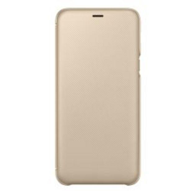 Oferta de Funda Samsung Wallet Cover A6+ Gold por $1119