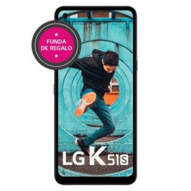 Oferta de Celular LG K51s 64 GB Titanium por $25999