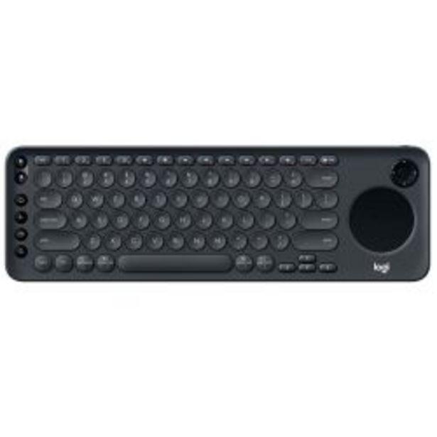 Oferta de Teclado para Smart TV Logitech K600 TV por $7499