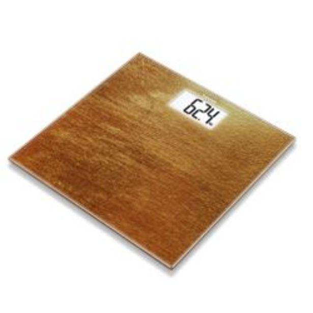 Oferta de Balanza Personal Digital Vidrio Con Lcd Beurer Gs 203 Rust por $5090