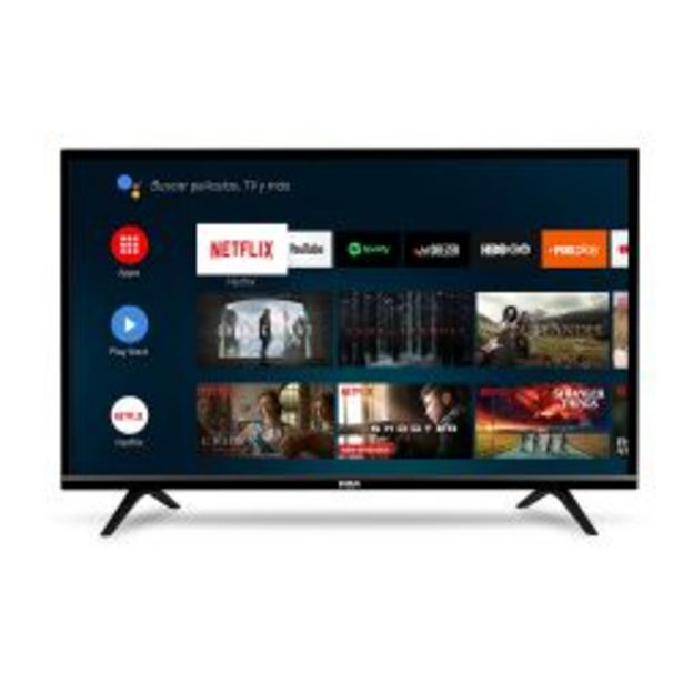 "Oferta de Smart TV 32"" HD RCA Androidtv XC32SM por $24999"