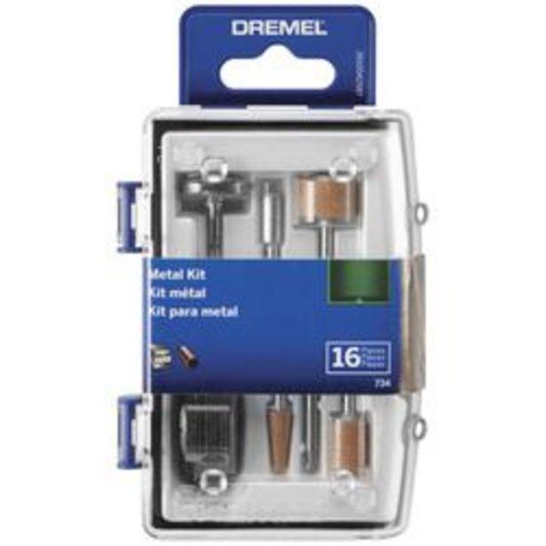Oferta de Micro kit metal Dremel 734AB por $1999