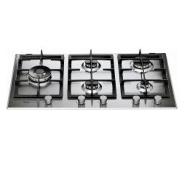 Oferta de Anafe a Multigas Whirlpool GMA9522X Inox por $64299