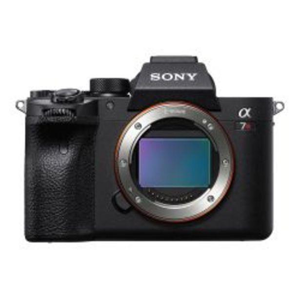 Oferta de Camara Digital Mirrorless Sony ILCE 7RM4 A7r Iv 4k Hdr por $359999