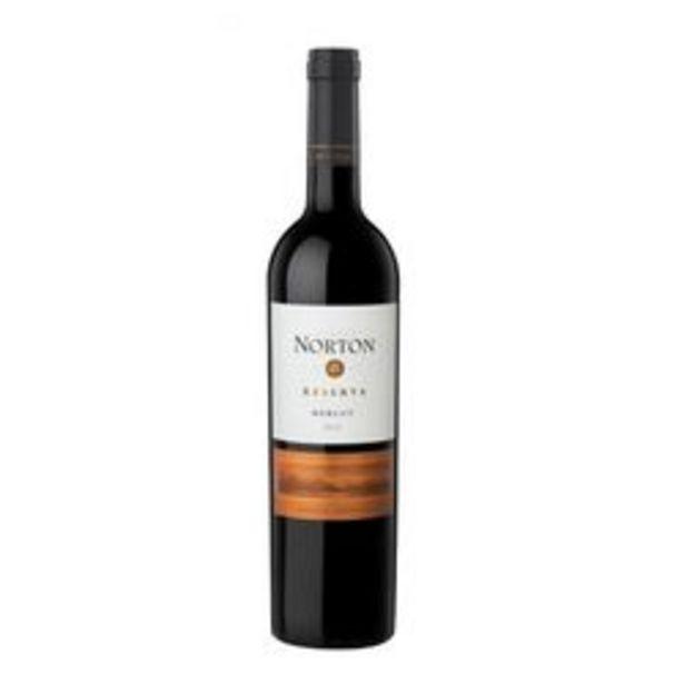 Oferta de Vino Tinto Norton Reserva Merlot x 6 por $3309