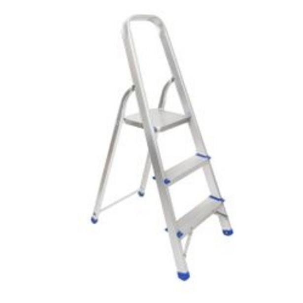 Oferta de Escalera de Aluminio de 3 Escalones Nouvelle Cuisine 1310200 por $6219