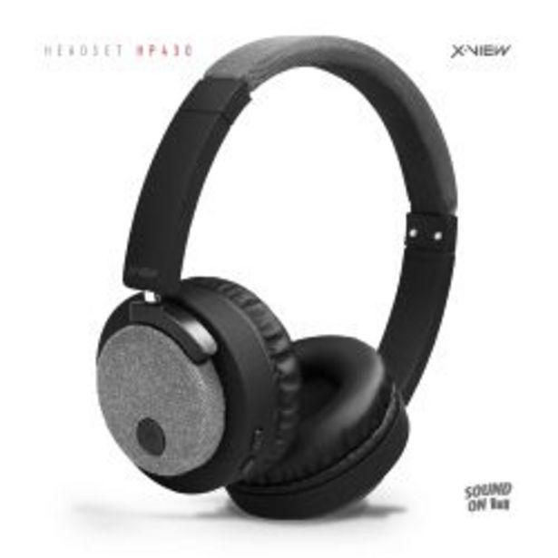 Oferta de Auriculares Inalambricos Vincha HP430 Bluetooth por $3999
