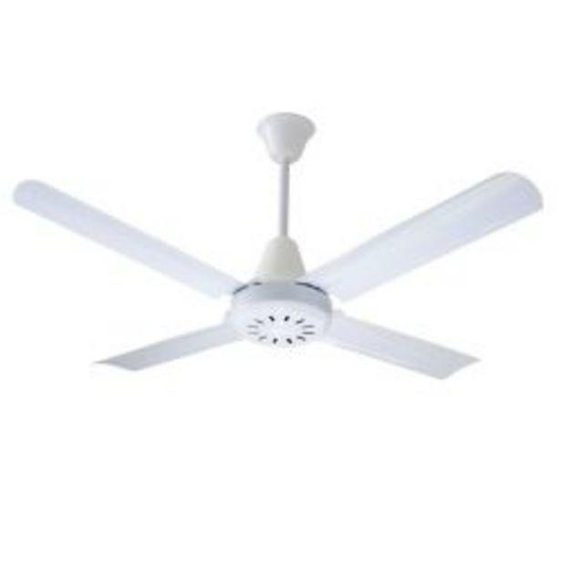 Oferta de Ventilador de Techo Exahome 601 blanco por $9890