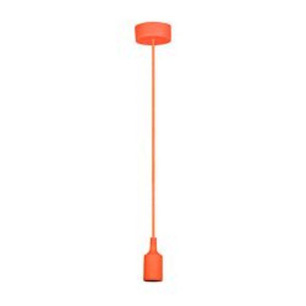 Oferta de Lampara colgante de techo moderna Faroluz 11001 naranja por $715