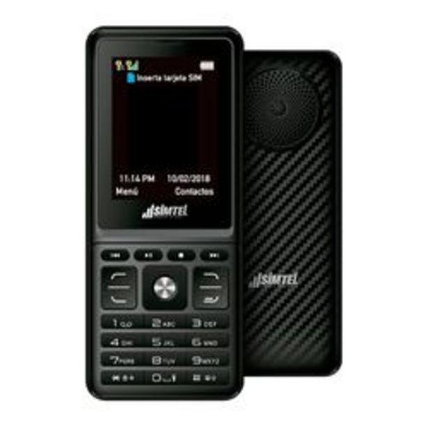 Oferta de Celular Liberado SIMTEL Express Music 4400 negro por $3999