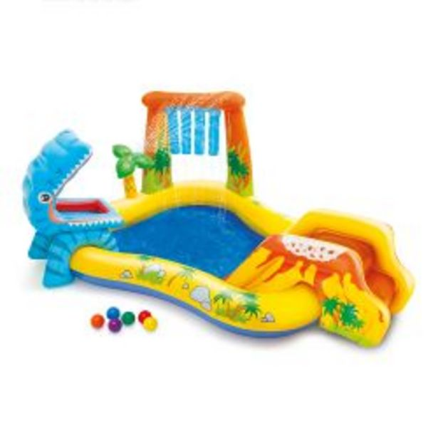 Oferta de Playcenter Inflable Intex Dinosaurio por $14399
