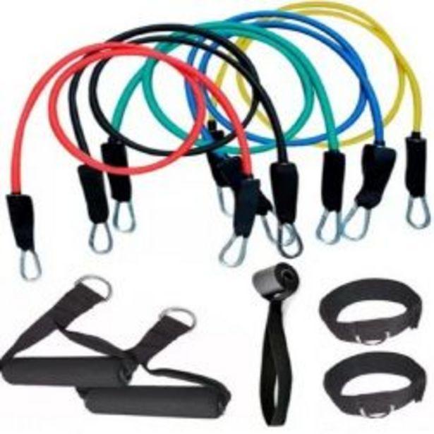 Oferta de Kit 5 Bandas De Entrenamiento Ranbak 733 Fitness Latex por $4330