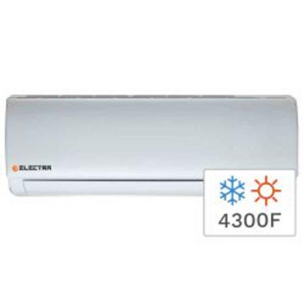 Oferta de Aire Acondicionado Split Frio/Calor Electra Trend  4300F 5100W TRDO51 por $67999
