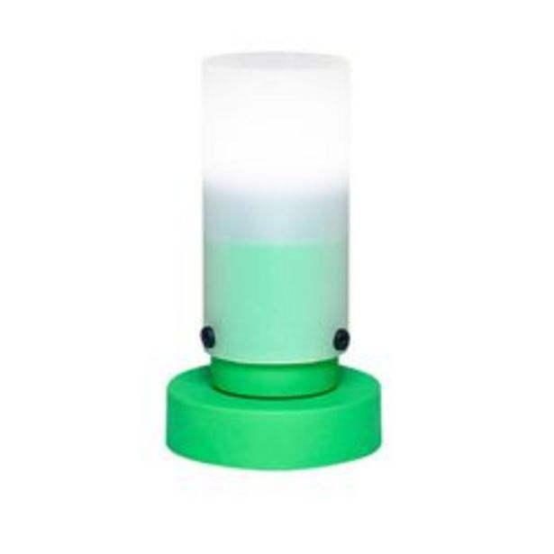 Oferta de Velador polipropileno pantalla tubo Faroluz por $1149