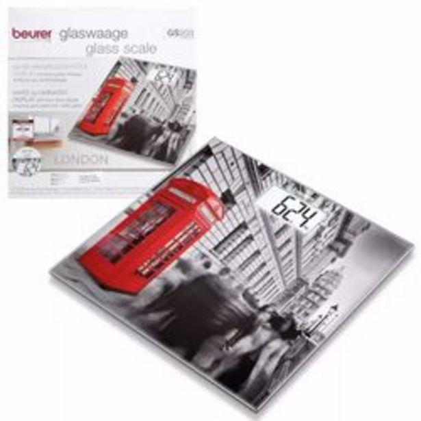 Oferta de Balanza Personal Digital de Vidrio Beurer GS 203 Diseño Londres por $5090
