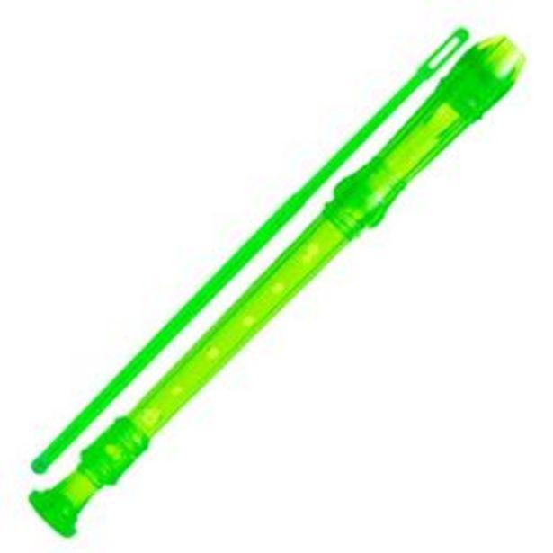Oferta de Flauta Dulce Parquer Escolar Soprano Digiacion Alemana Color Verde por $360