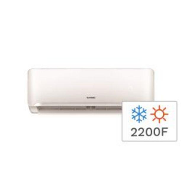 Oferta de Aire Acondicionado Split Frio/Calor Sansei SAS25HA3AN 2200F 2600W por $37999