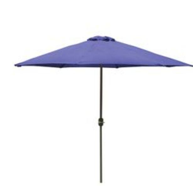 Oferta de Sombrilla Garden Life de 2,70m diámetro de poliéster azul por $8999