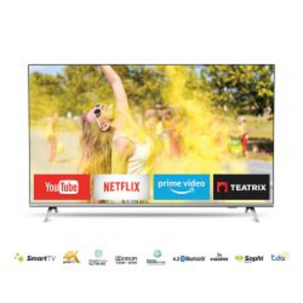 "Oferta de Smart TV 4k UHD 58"" Philips PUD6654/77 por $72999"