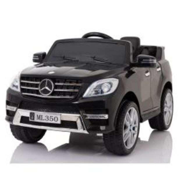 Oferta de Auto a Batería Mercedes Benz 12V Asiento de Cuero 3025 Color Negro por $42219
